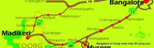 Mysore to Coorg